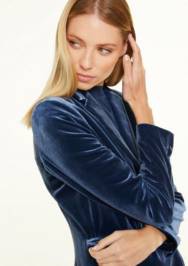 Elegant velvet blazer from comma