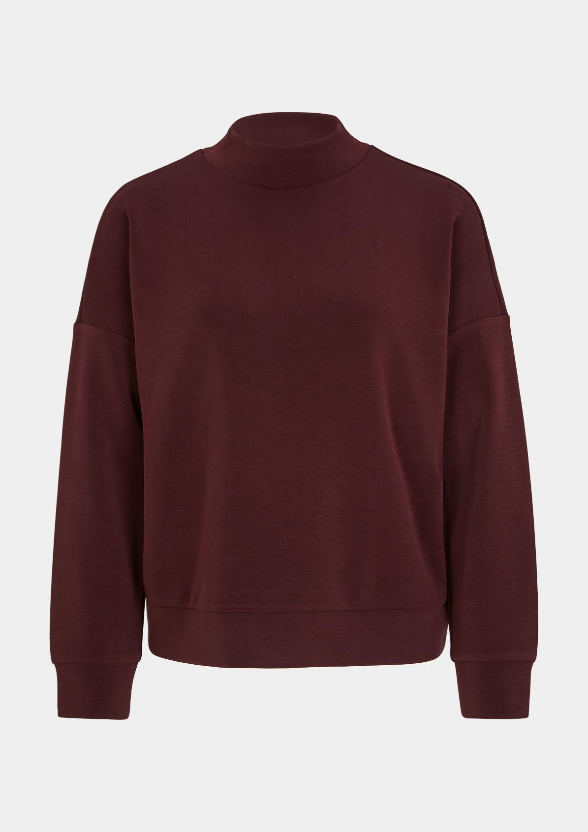 Sweatshirt mit High Neck