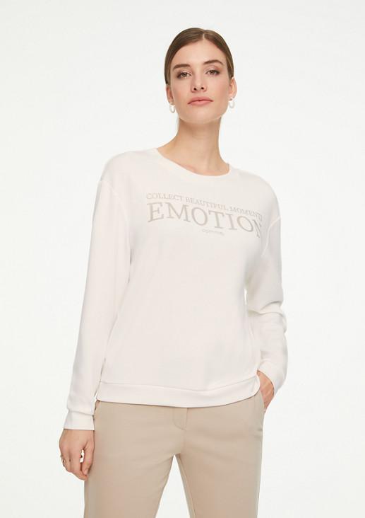 Sweatshirt mit Artwork