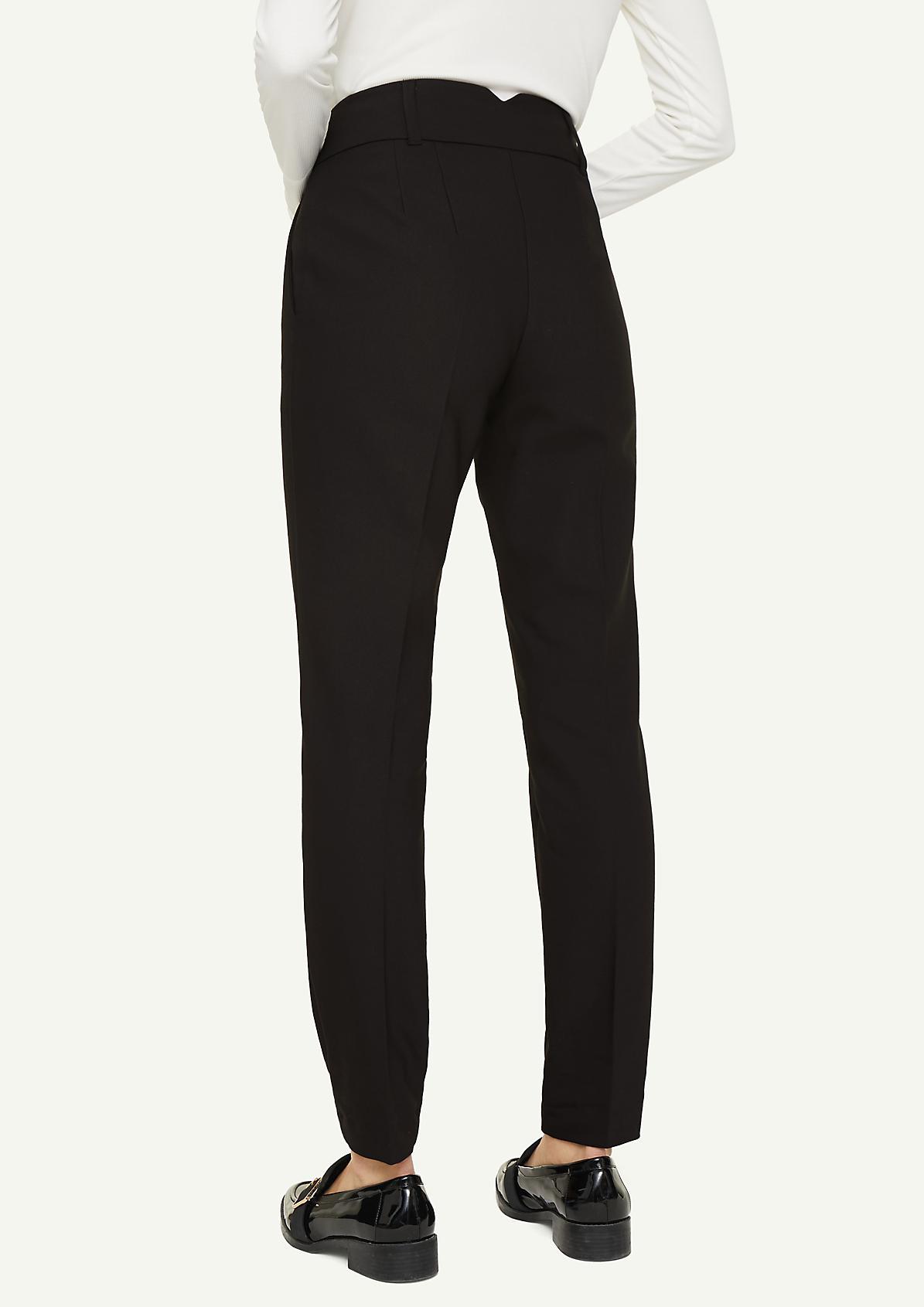 Skinny Fit: Bügelfalten-Hose
