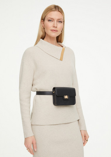 Bag in smooth faux leather from comma