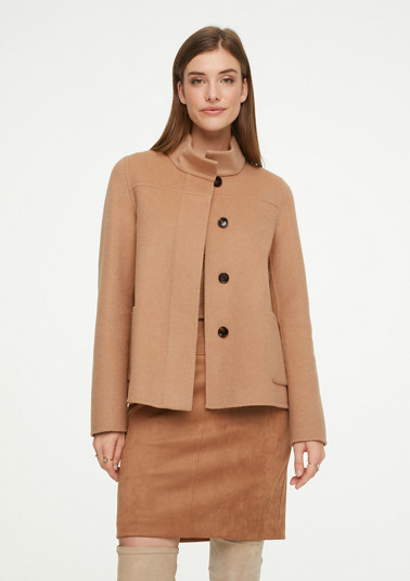 Double-faced wool jacket from comma
