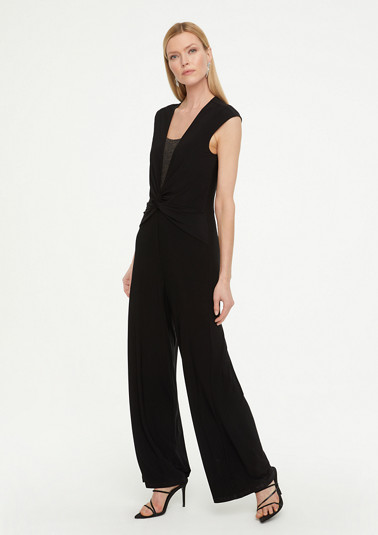 Jumpsuit with glittering insert from comma