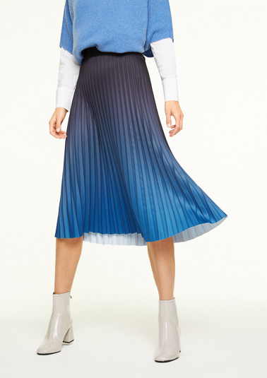 Midi skirt with an ombré effect from comma