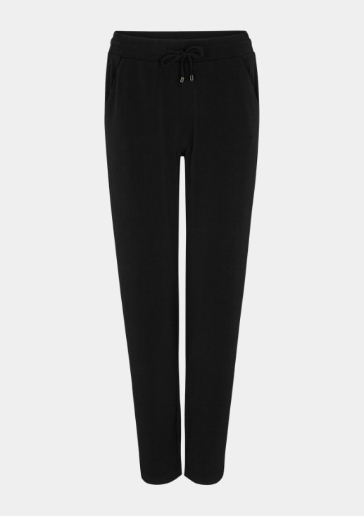 Cropped Pants aus Jersey