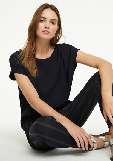 Oversized blouse top from comma
