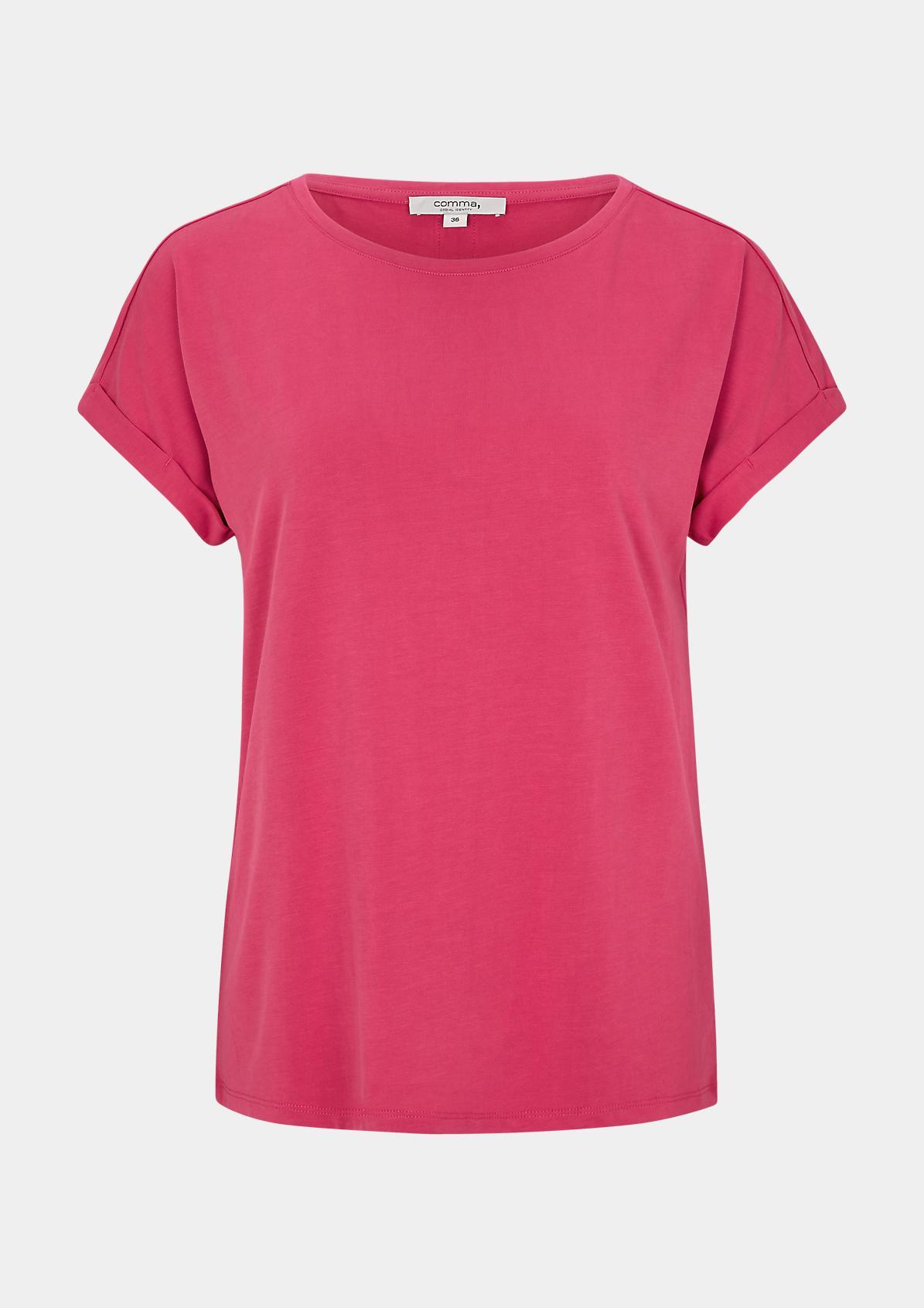 Shirt mit Deko-Knopfleiste am Rücken
