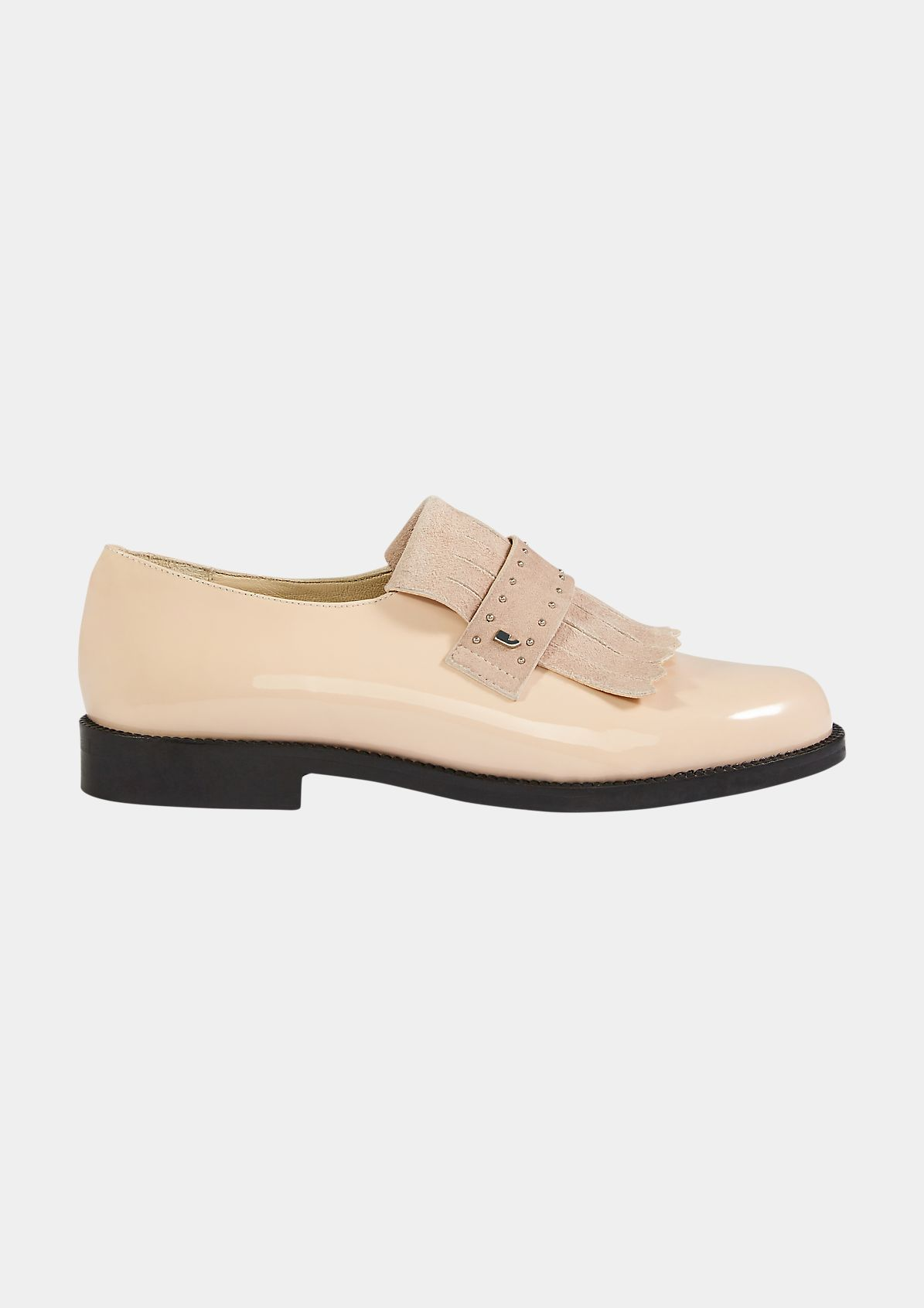 Loafer aus Lackleder