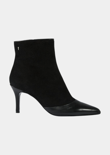 Material mix ankle boots from comma