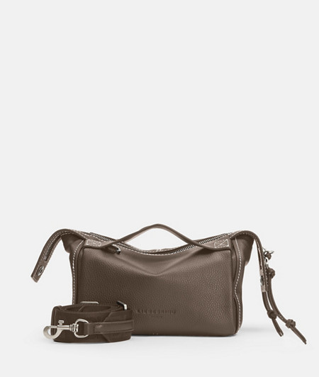 Modern shoulder bag with seams in a contrasting colour from liebeskind