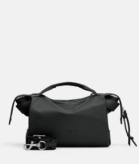Small satchel bag with two-way zip from liebeskind