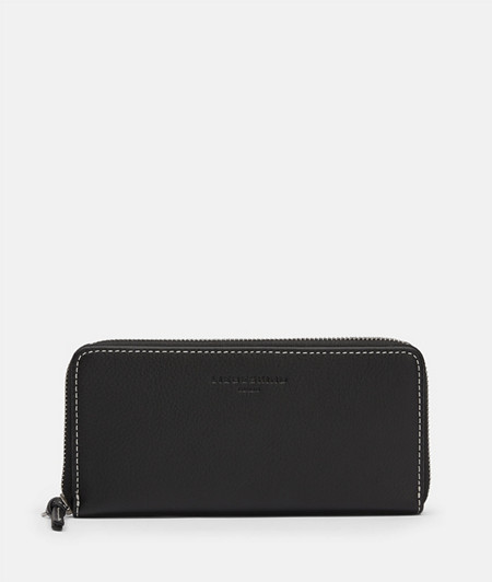 Large wallet with stitching in a contrasting colour from liebeskind