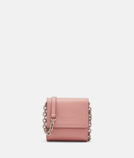 Mini crossbody bag with contrasting edges from liebeskind
