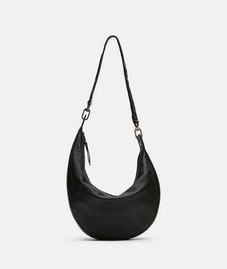 Semi-circular bag in an asymmetric shape from liebeskind