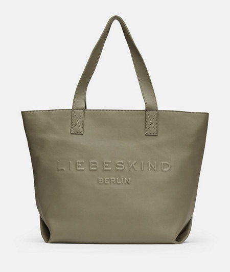 lässiger Shopper mit großer Logoprägung