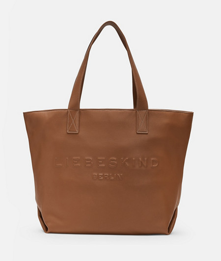 Casual shopper with large embossed logo from liebeskind