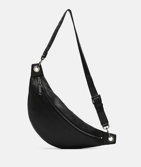 Leather shoulder bag from liebeskind
