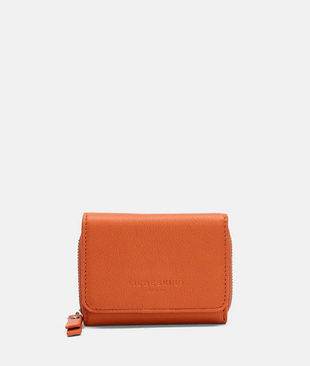 Compact purse with soft smooth leather from liebeskind