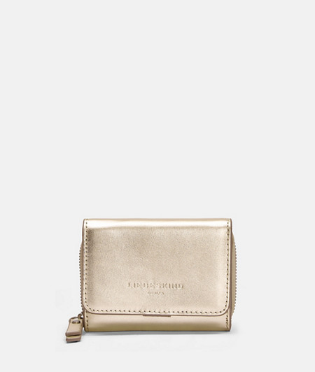 Compact metallic purse from liebeskind