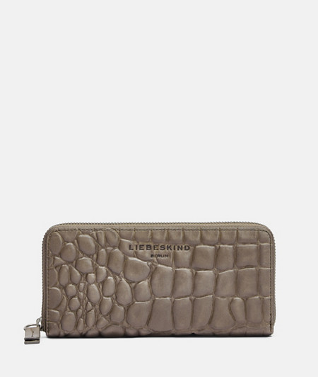 Large wallet with snakeskin embossing from liebeskind