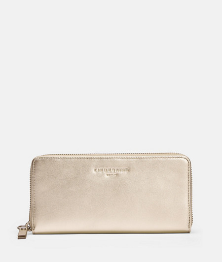 Large metallic wallet from liebeskind