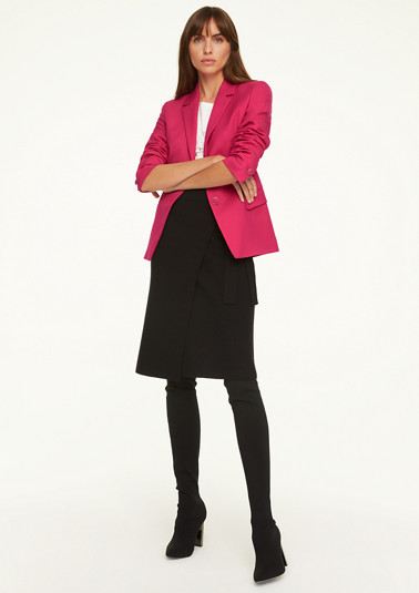 Fitted blazer with buttons from comma