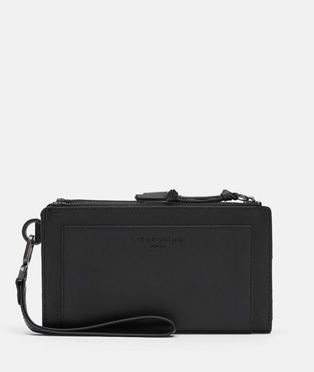 Wallet with phone compartment and high-quality leather mix from liebeskind