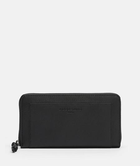 große Brieftasche mit hochwertigem Ledermix