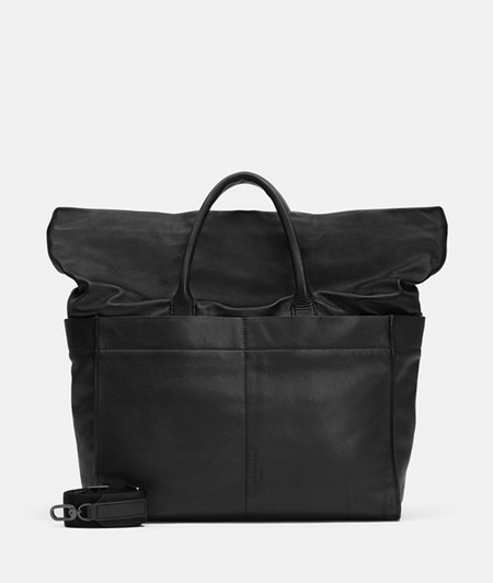 Satchel with a high-quality leather mix from liebeskind