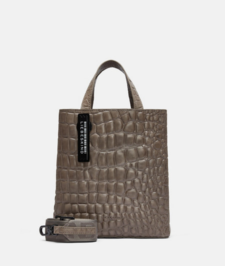 Mock croc leather handbag from liebeskind