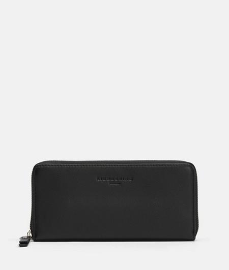 große Brieftasche mit Rundum-Reißverschluss