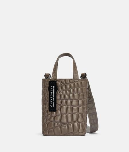 Small mock croc handbag from liebeskind