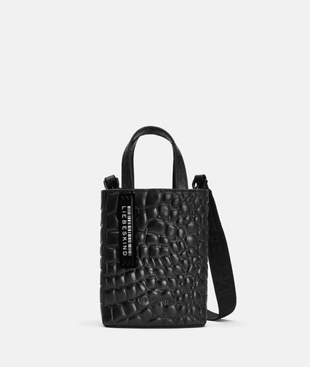 Small mock croc handbag from liebeskind