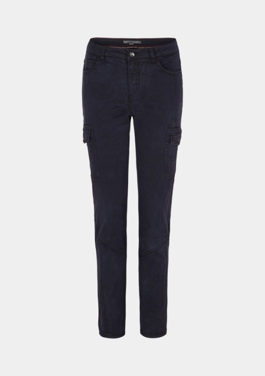 Slim fit: cargo-style trousers from comma