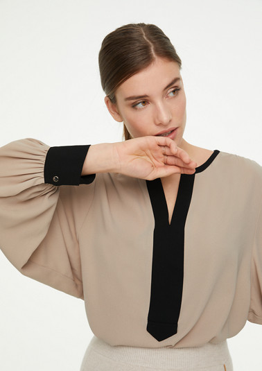 Colour block blouse from comma