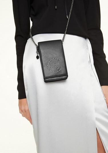Phonebag mit Swarovski-Kristallen