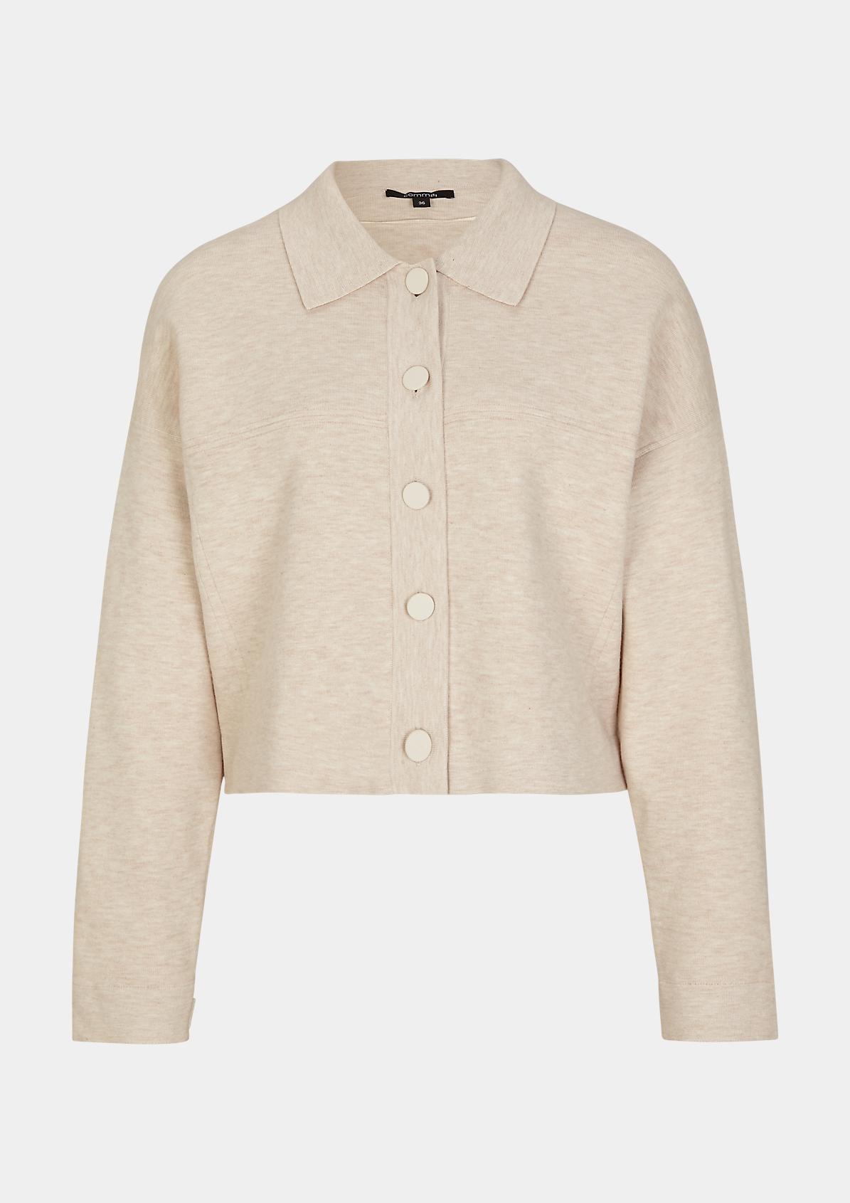 Jacke aus Viskosemix