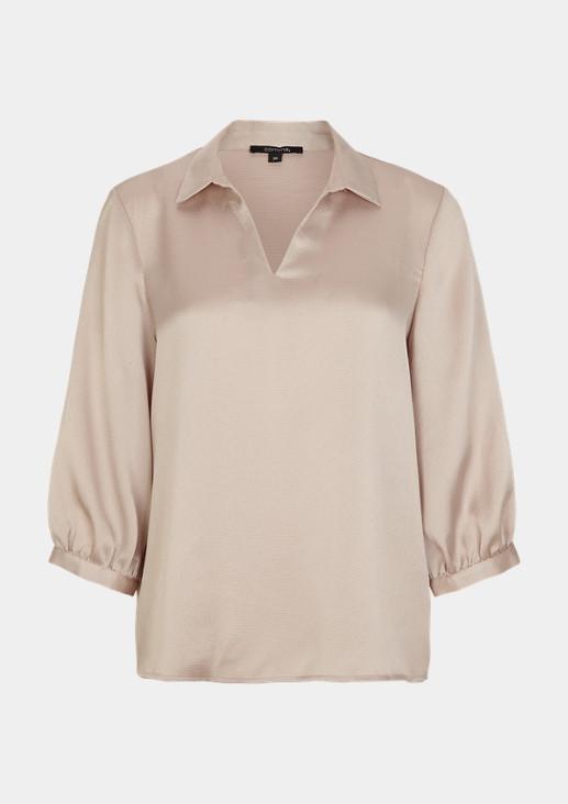 Elegante Bluse mit 3/4-Ärmel