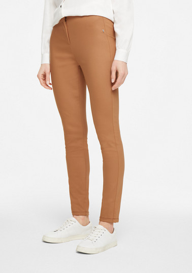 Slim Fit: Hose mit Stretch