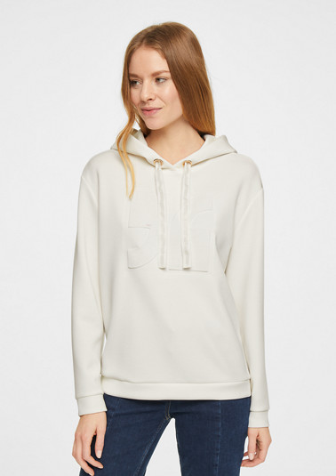 Hoodie with 3D artwork from comma