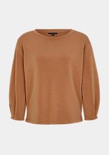 Sweatshirt in Scuba-Optik