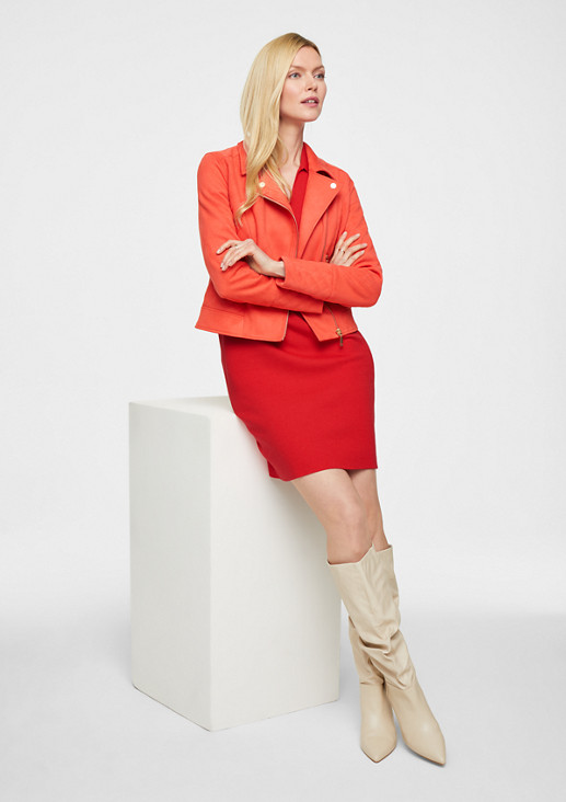 Pulloverkleid aus Feinstrick