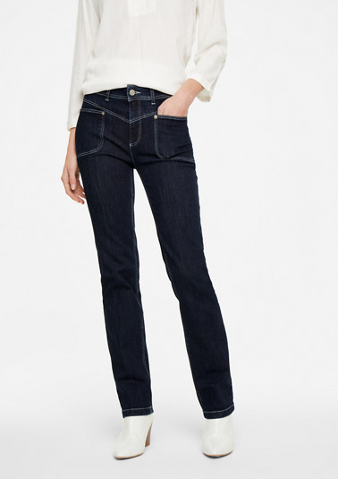 Regular Fit: straight leg jeans from comma