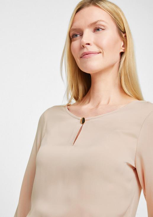Blusenshirt mit 3/4-Ärmeln