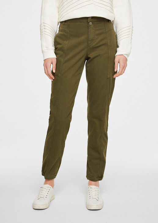 Regular Fit: Tapered leg-Hose