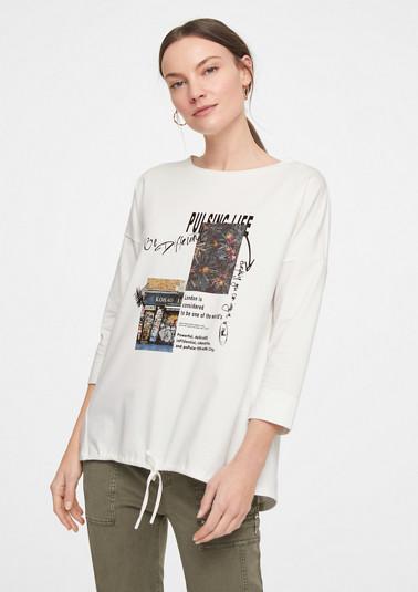 Lässiges Shirt mit Fotoprint