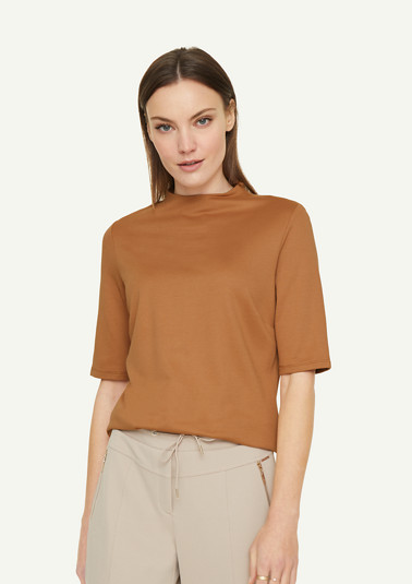 Shirt aus Ponte di Roma-Jersey