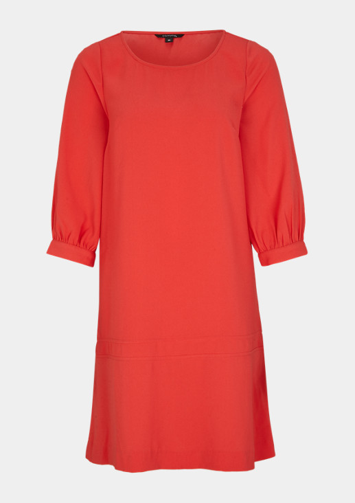 A-line dress with a bateau neckline from comma