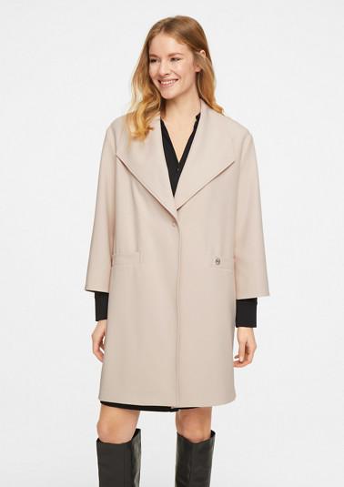 Leichter Mantel in O-Shape