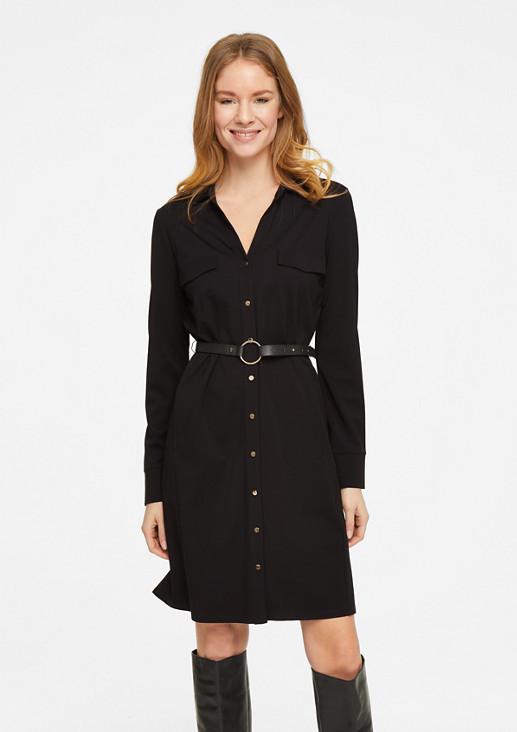 Kleid aus Ponte di Roma-Jersey